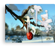 The Icicles Metal Print