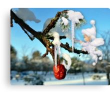 The Icicles Canvas Print