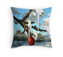 The Icicles Throw Pillow