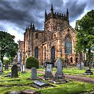 Dunfermline Abbey,HDR. by ninjabob