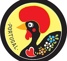 Symbols of Portugal - Rooster #02 by Silvia Neto