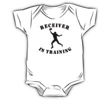 Receiver In Training One Piece - Short Sleeve