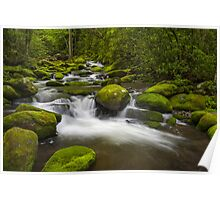 Smoky Mountains Paradise - Great Smoky Mountains Gatlinburg TN Poster