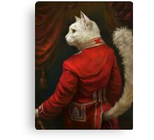 The Hermitage Court Chamber Herald Cat Canvas Print