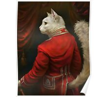 The Hermitage Court Chamber Herald Cat Poster