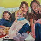 Family/self portrait by ArtLuver