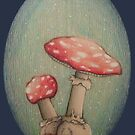 Mushrooms by Rayne Karfonta