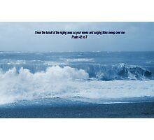 RAGING SEAS Photographic Print