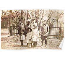 Siblings & Cousins ~ Tonawanda, NY Poster
