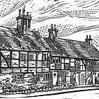 Cottages, English Civil War Period by wonder-webb