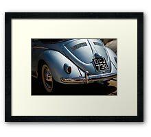 VW 9756 Framed Print
