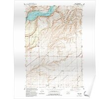 USGS Topo Map Washington State WA Page 243063 1991 24000 Poster
