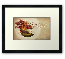 Autumn and other stories Framed Print