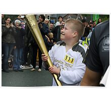 Olympic Torch Relay Poster