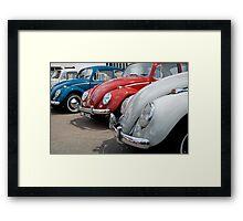 VW 9803 Framed Print