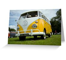 VW 9836 Greeting Card