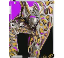 Giraffe, together 15 iPad Case/Skin