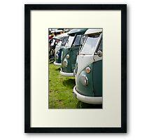 VW 9844 Framed Print