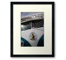 VW 9845 Framed Print