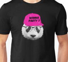 Panda - Wanna Party Cap Unisex T-Shirt