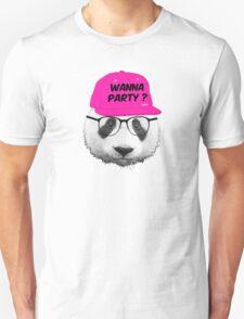Panda - Wanna Party Cap T-Shirt