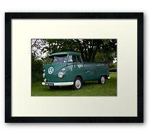 VW 9846 Framed Print