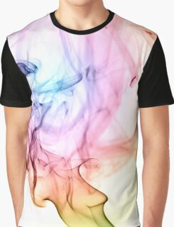 Ombre Smoke Graphic T-Shirt