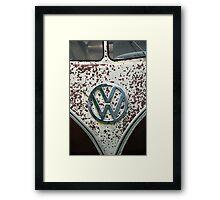 VW 9848 Framed Print