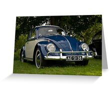 VW 9863 Greeting Card