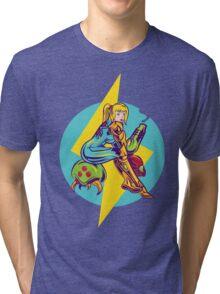 Femme Fatale Hunter  Tri-blend T-Shirt