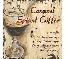 Caramel Spiced Latte Photographic Print