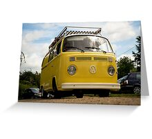VW 9811 Greeting Card