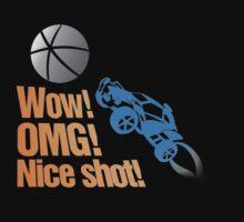 Wow! OMG! Nice Shot! Rocket league! by KillDeathRatio
