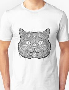 British Shorthair Cat - Complicated Coloring T-Shirt