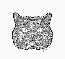 British Shorthair Cat - Complicated Coloring Unisex T-Shirt
