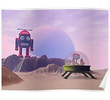 Toy Moon Walker Scene Poster