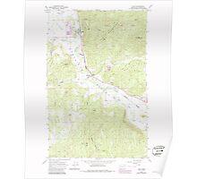 USGS Topo Map Washington State WA Addy 239739 1965 24000 Poster