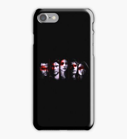 The Cabin in the Woods Cast iPhone Case/Skin