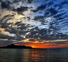 Majorcan Sunrise (Alcudia) by Jim Wilson