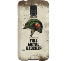 Full Genetic Infantryman Samsung Galaxy Case/Skin
