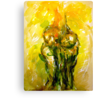 """Tribute for """"The Fountain""""  Canvas Print"""