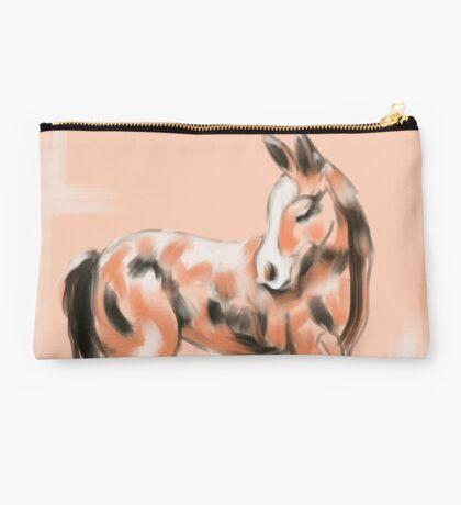 Foal Peach Studio Pouch