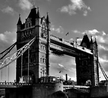 Tower bridge - London by Mark Kerton