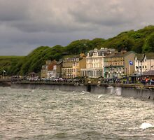 A Grey Day in Filey by Tom Gomez