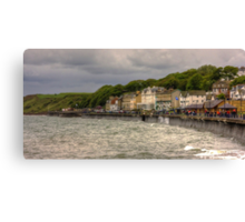 A Grey Day in Filey Canvas Print
