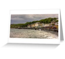 A Grey Day in Filey Greeting Card