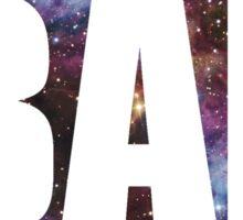 Bae Round Galaxy Sticker