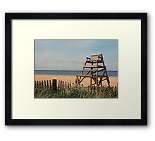 Bayville Beach Framed Print