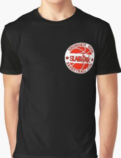 Shohoku High Basketball Club Logo Graphic T-Shirt