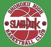 Shohoku High Basketball Club Logo Baby Tee